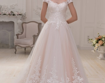 Wedding dress wedding dress bridal gown LEONORA