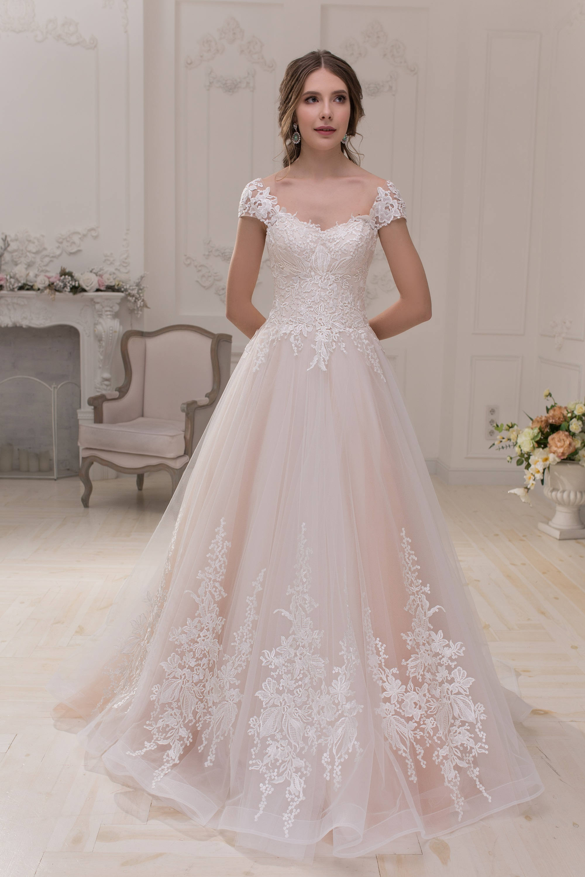 Wedding Dress Hochzeitskleid Brautkleid LEONORA