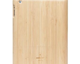 iPad Case | iPad 2 – 3 - 4 Case | Bamboo Wood Case | Wooden Case | Unique Case | Gift For Men – Women - Husband