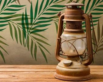 CraftStar Palm Leaf Stencil - Reusable A4 Mylar Palm Frond Design