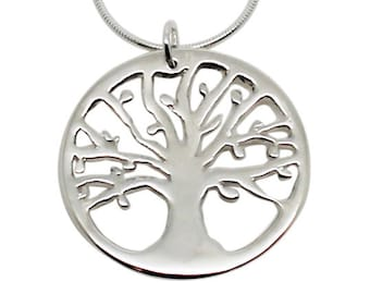 Tree of Life Necklace, tree of life pendant, silver tree, tree pendant, silver tree pendant, sterling tree, silver tree, silver tree of life