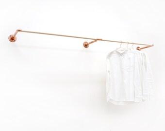 W-Rack • Wall Mount Clothing Rack