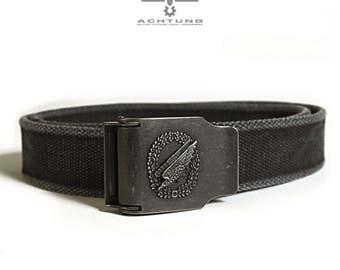 Black safety belt Para Military