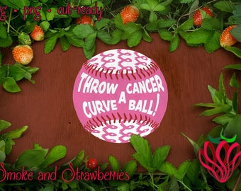 Cancer layered base balls SVG layered layers stitches colours - smooth handdrawn sport htv shirt design cuttable silhouette cricut scanncut