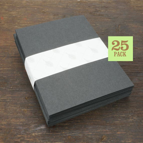 size of notecards