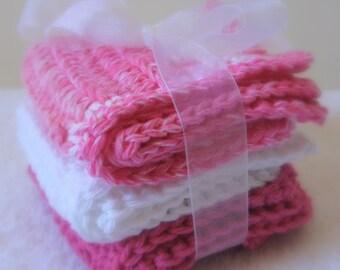 Strawberry Ice Cream Face\/Wash Cloths