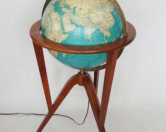 Wormley Dunbar Illuminated World Globe