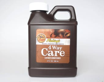Leather Care Leather Conditioner by Fiebings 4 way Care