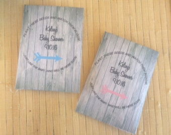 Baby Shower Favors Seeds ~ Baby shower packets etsy