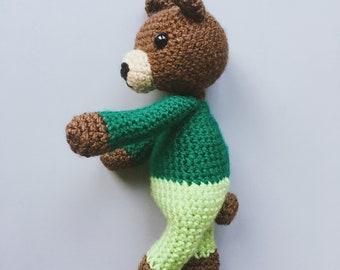 PATTERN: Easy Bear - Amigurumi crochet pattern PDF