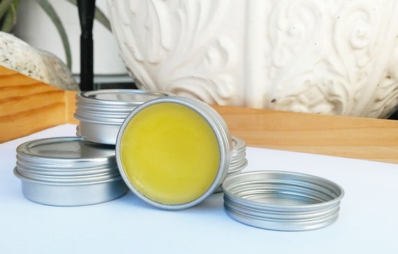 Lemon, Eucalyptus and Lavender Salve - Ointment - Balm, Old Fashioned & Organic, Soothing, Moisturizing, Sinus, Allergies