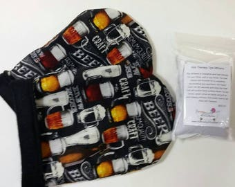 Hot Therapy Spa Mitten Set Crafted Beer