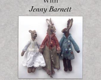 Book two 'Felt Making Workshops with Jenny Barnett'