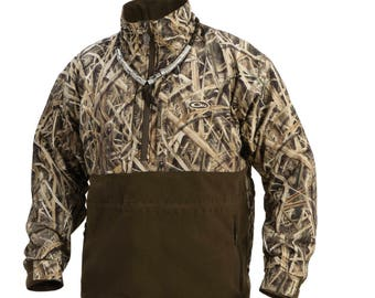 Drake Waterfowl Eqwader Zippered Chest Pockets