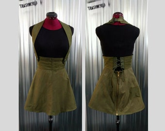 Military Short Dress