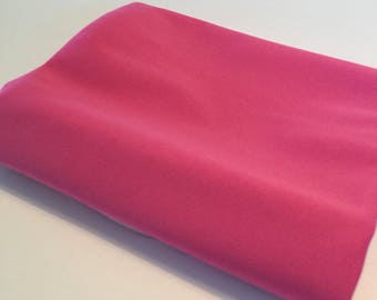"Pink Waterproof Pul Fabric - 21"" x 24"""