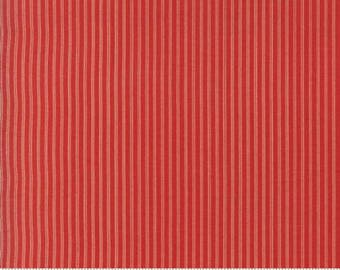 Ann's Arbor Red Pinstripe 14849 11 by Minick & Simpson for Moda