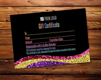 Gift Certificate, Surprise gift, Certificate, Redeemable,Printable  Bucks,Cash, Home Office Approved fonts and colors, Pop Up Shop Cards