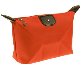 x 1 Kit/toiletry/cosmetic pouch orange