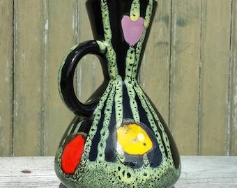 Vase Vallauris 1960s vintage. Very original form. French vintage