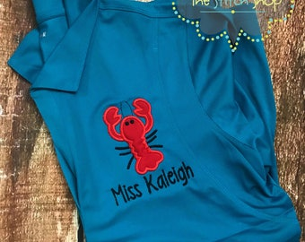 Ladies Polo Teacher Applique Shirt