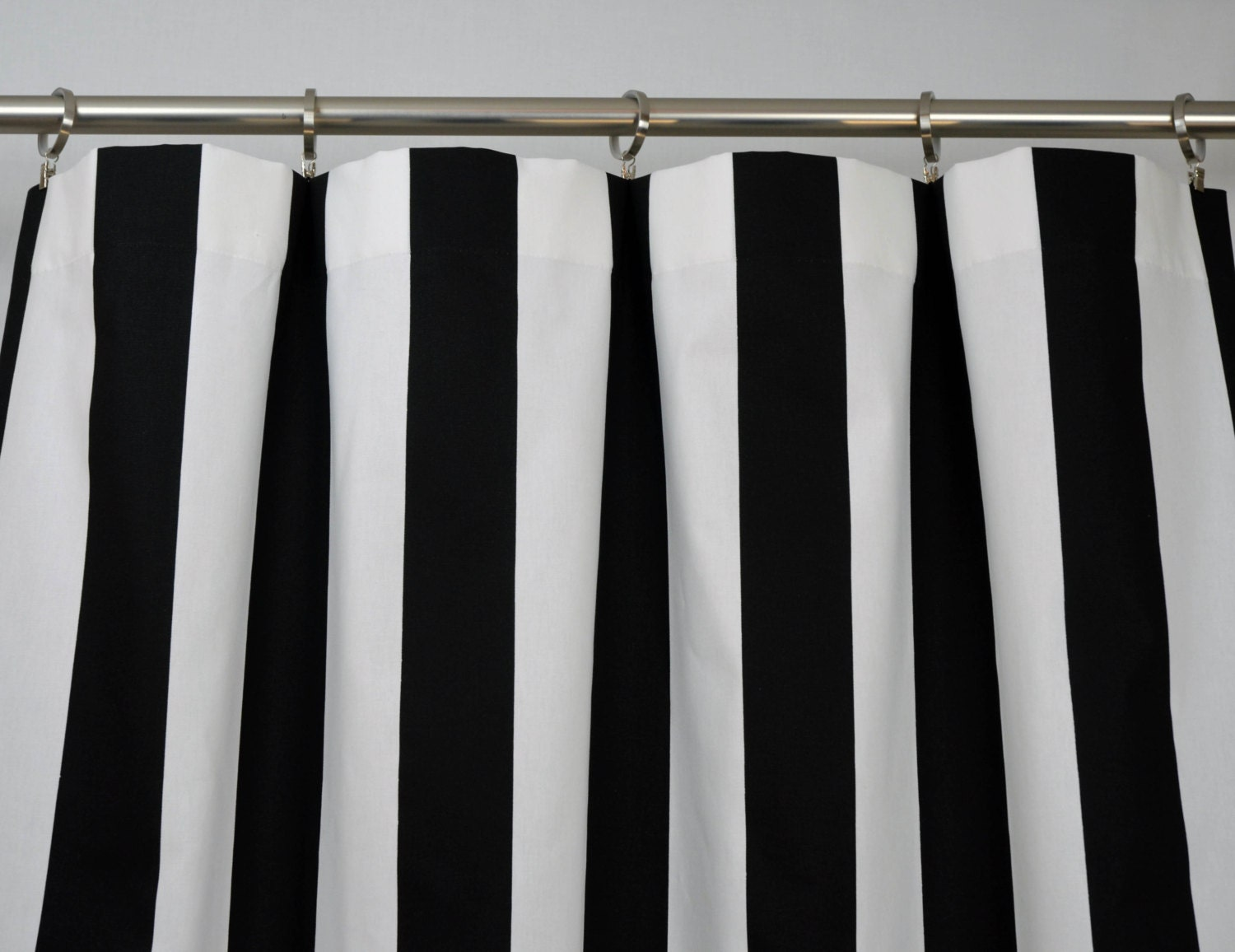 treatments blackout drapes black thick striped curtains window white and size materials full