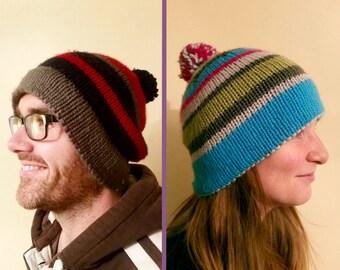 Adult's bobble hat
