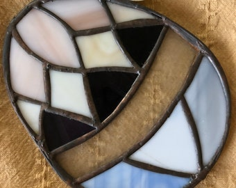 Stained Glass Easter Egg Sun-catcher