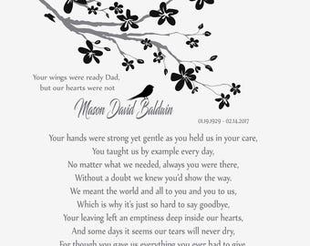 Soldier Memorial Print-Soldier Remembrance Poem-Fallen Soldier