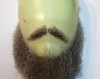 High quality beard and moustache set for media and performance.LI53