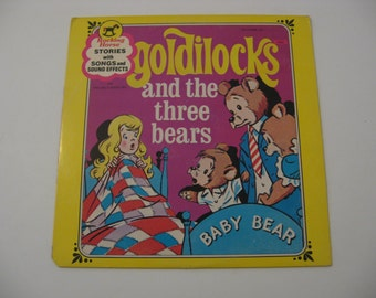 Rocking Horse Records - Goldilocks And The Three Bears / The Ugly Duckling  - Circa 1960's