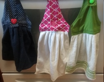 Hans sewn kitchen handtowels