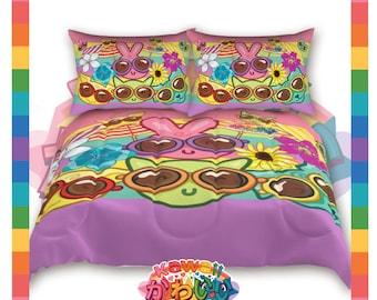 Kawaii Universe - Cute Vacation Pals Designer Bedspread