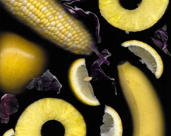 Food Photography, Scanner Art