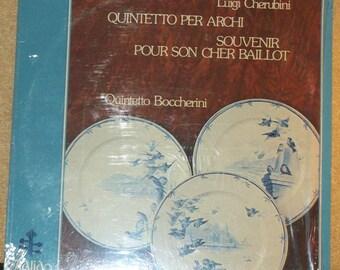 Luigi Cherubini Quintetto Per Archi Quintetto Boccherini Classical Vinyl Record Album Italian Import