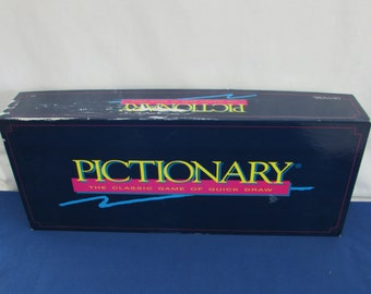 PICTIONARY 1993 The Classic Game of Quick Draw