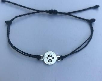 Dog Paw Waterproof Charm Bracelet