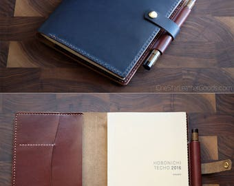 BUILD-YOUR-OWN - cover for Hobonichi Cousin planner (fits some other A5 notebooks)
