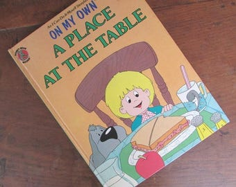 Picture Book On My Own Children's Book A Place At The Table I Can Do It Myself Storybook
