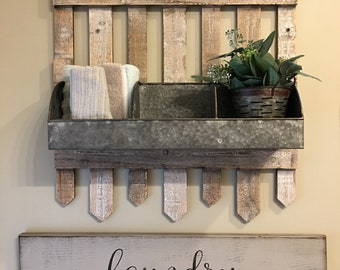 Laundry Wood Sign, Laundry Room, Wall Decor, Farmhouse, Rustic,  CountryJunctionKY,
