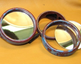 2 inch Mirror Lenses for Steampunk Goggles