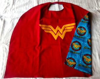 Reversible Wonder Superhero Cape