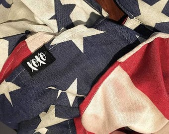 xoxo buckle wrap baby carrier - Americana, First Edition