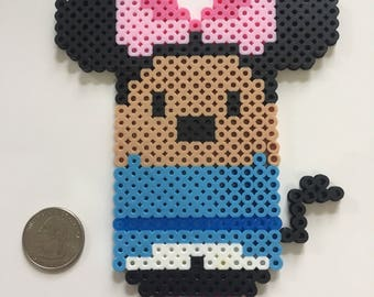 Minnie Mouse Tsum Tsum Character - Disney - Perler Bead Sprite