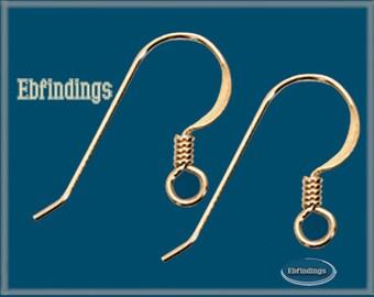 50pcs 14K Gold Filled Earring Finding Ear Wire Hook EB001428pkg