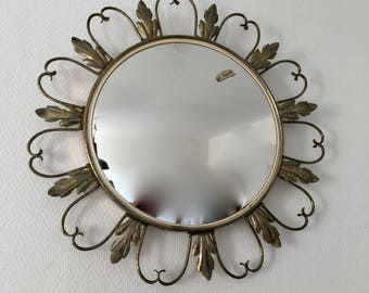 Witch 45cm 1960 vintage convex mirror
