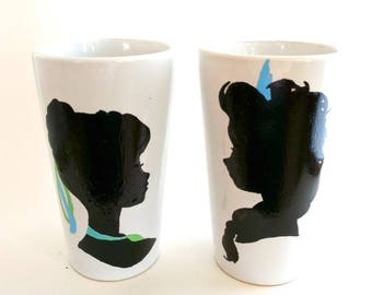 Frozen Elsa and Anna Large Mug set
