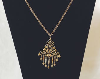Vintage Chandelier Necklace