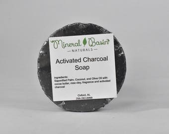 Activated Charcoal Soap - VEGAN