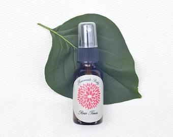 Organic Rose Toner,Organic Face Toner,Organic Facial Toner,Pure Organic Toner, Vegan Skin Care -Organic Skin Care